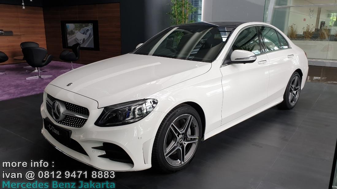 C300 Amg Facelift 2019 Indonesia Putih