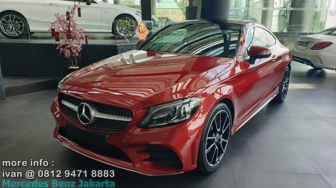 C300 Coupe AMg Facelift 2019 Indonesia Merah