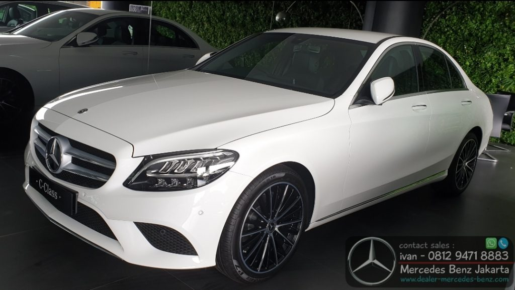 Mercedes Benz C200 Avnatgarde Line Facelift 2019-2020 Indonesia