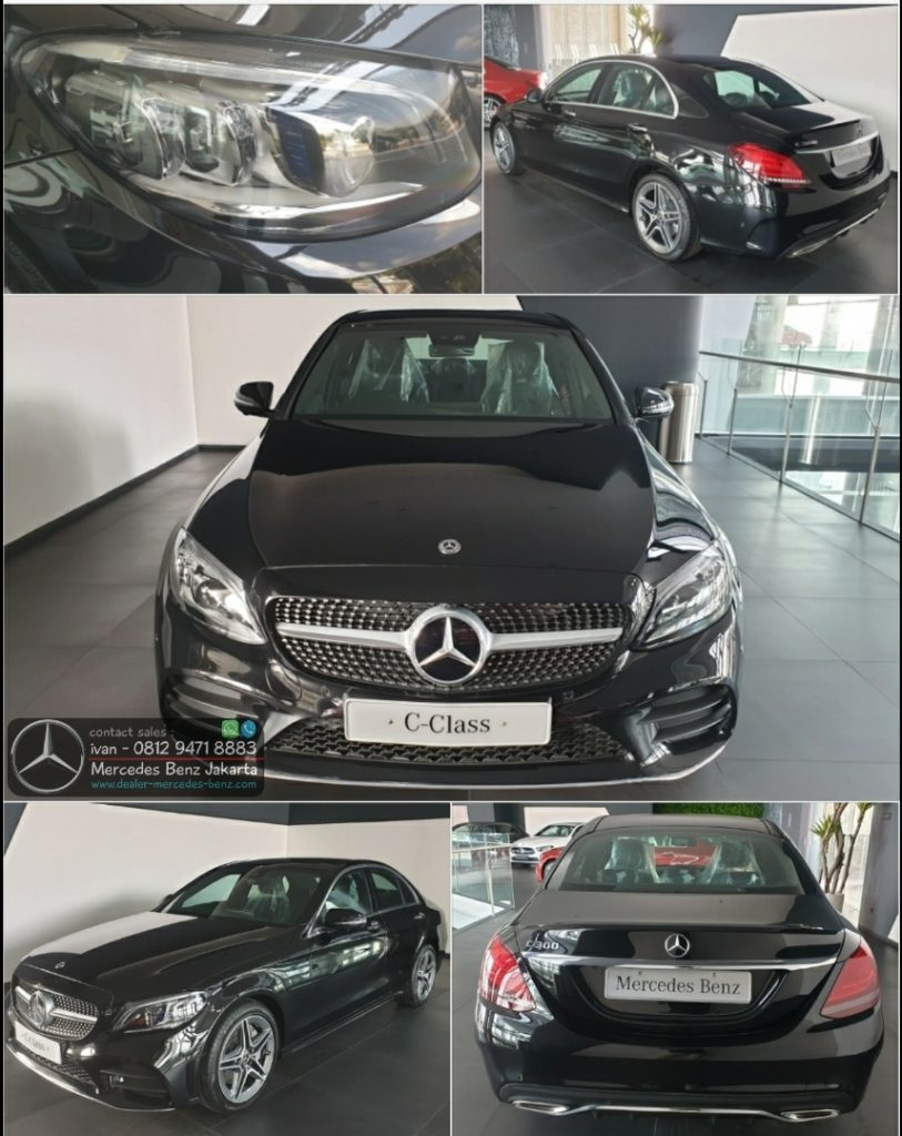 New Mercedes Benz C-Class C300 Amg Line FL Facelift 2019-2020 Indonesia