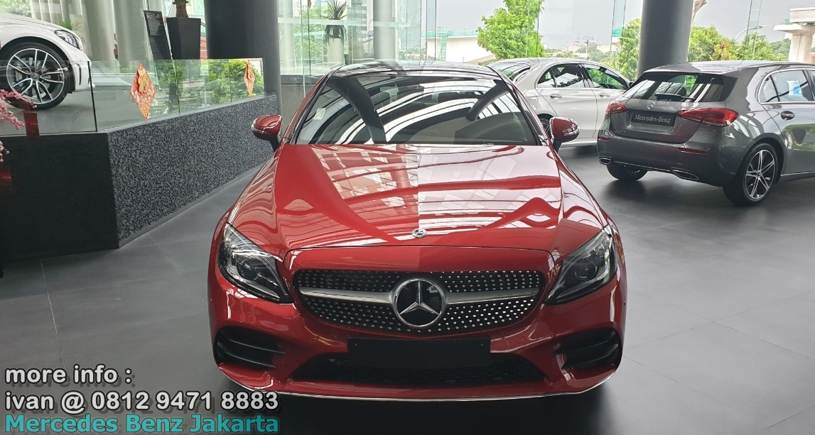 C300 Coupe 2019 Indonesia Merah