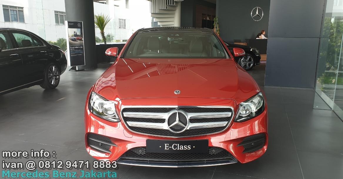 Mercedes-Benz E-Class E350 Amg 2019 Indonesia