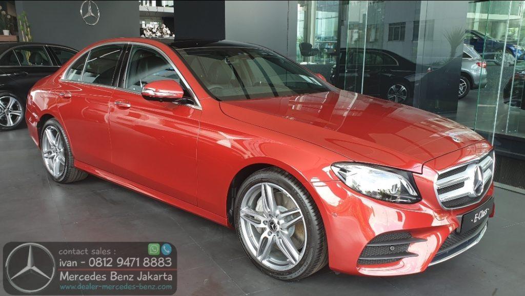 Mercedes Benz E350 Amg 2019-2020 Merah