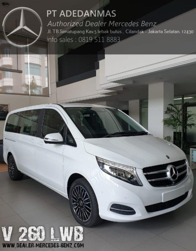 Dealer Mercedes Benz Jakarta V-Class 2020