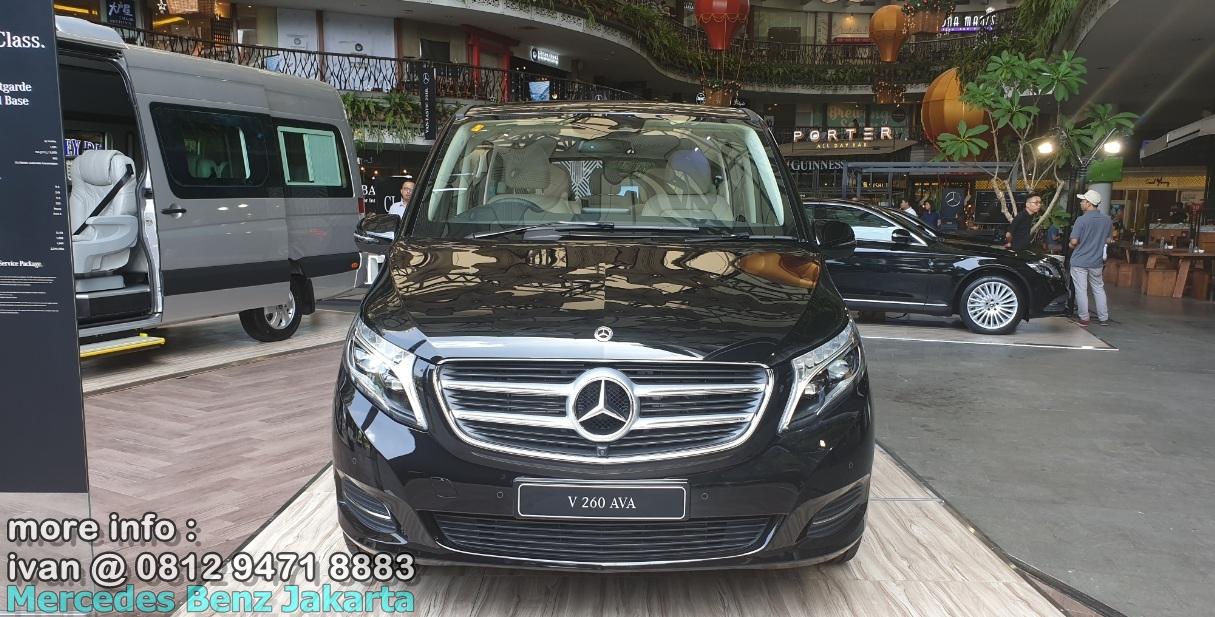 Mercedes-V-Class 2019 Indonesia