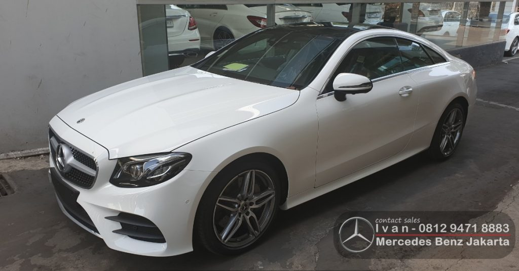 Promo Giias 2019 Mercedes Benz E300 Amg Coupe