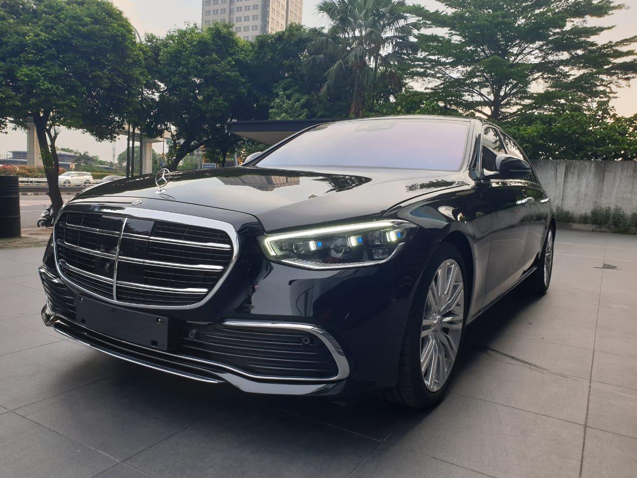 Mercedes Benz S450 L 2021 Indonesia   S-Class W223 Hitam