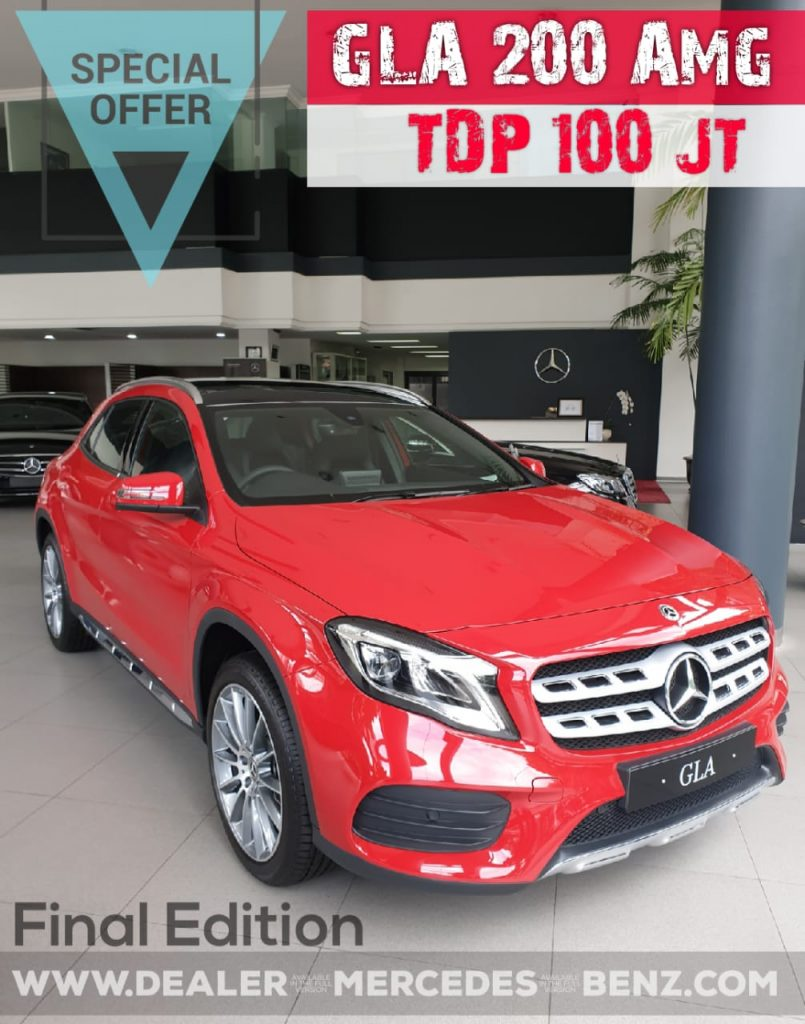 Promo Mercedes Benz GLA 200 Amg Final Edition 2019-2020