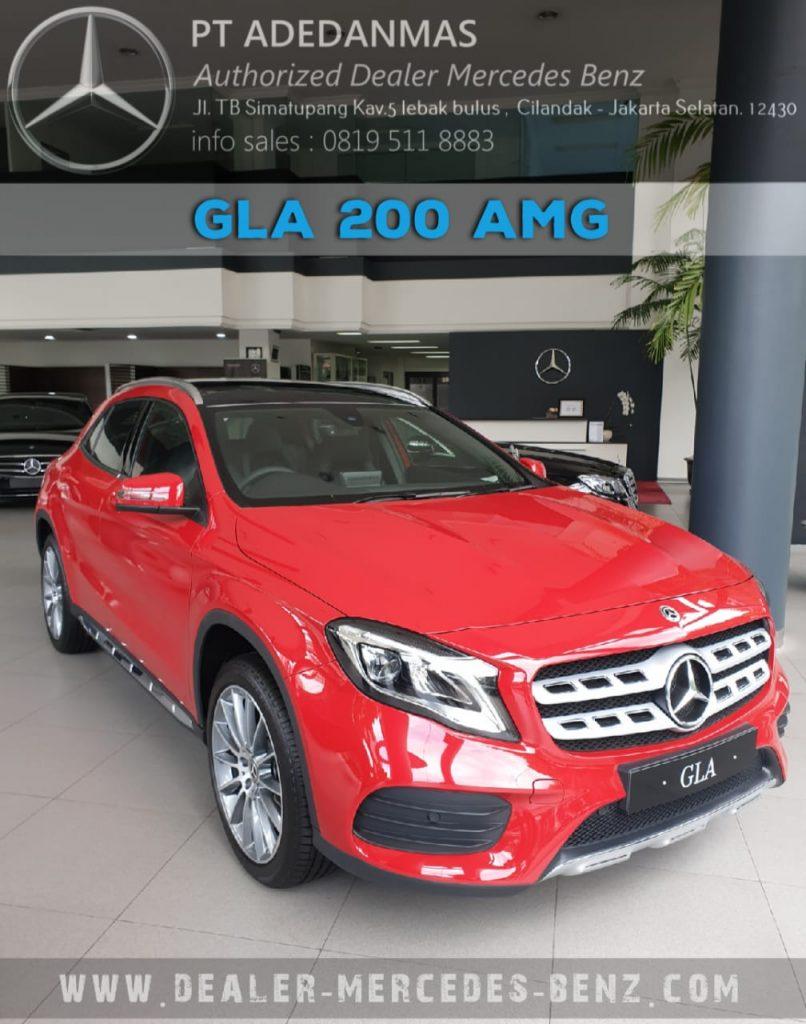 Dealer Mercedes Benz Jakarta GLA-Class 2020 Indonesia Red