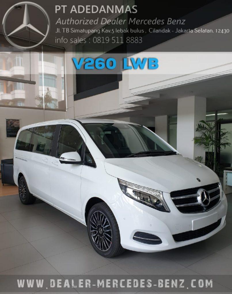 Mercedes Benz Jakarta V-Class V260 2020 Indonesia