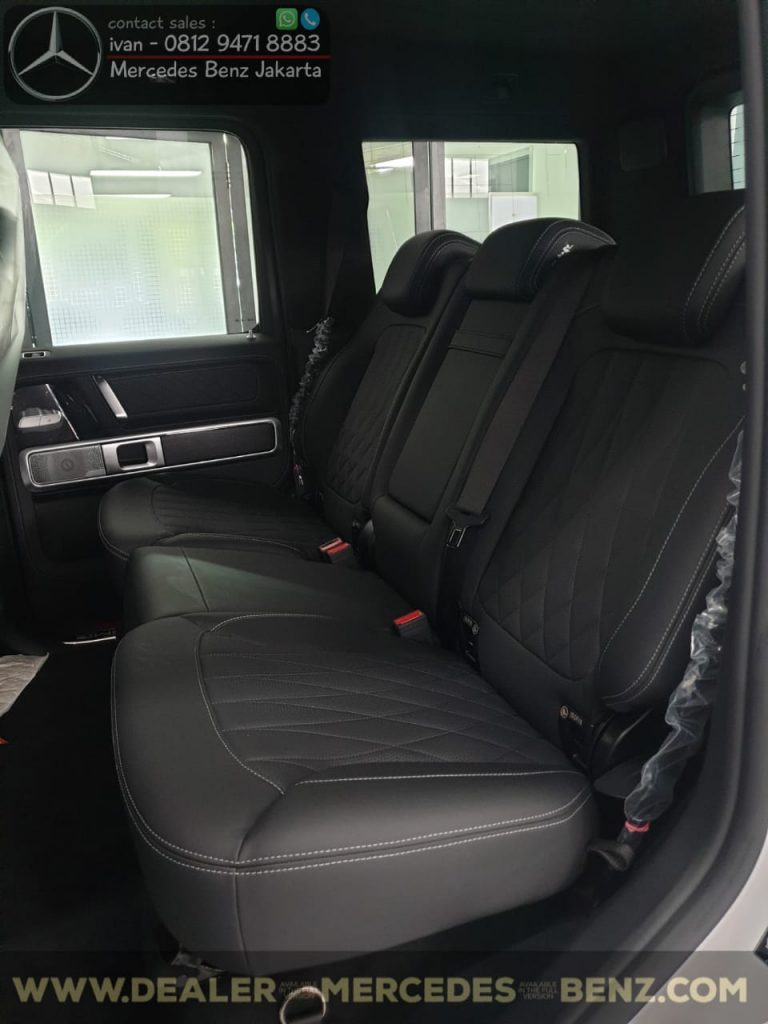 Interior Mercedes-Benz G-Class G63 Amg Indonesia 2019-2020