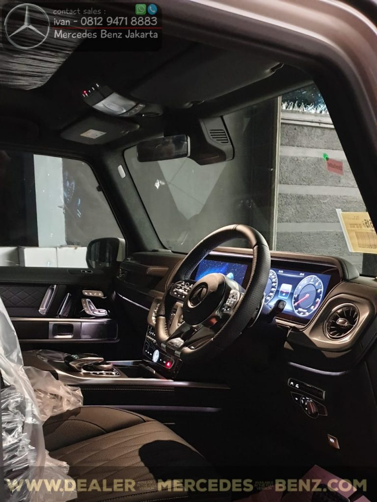 Interior Mercedes Benz G-Class G63 Amg Indonesia 2019-2020