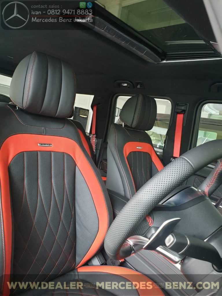 Interior Mercedes-Amg G63 Edition 1 Indonesia Black n Red