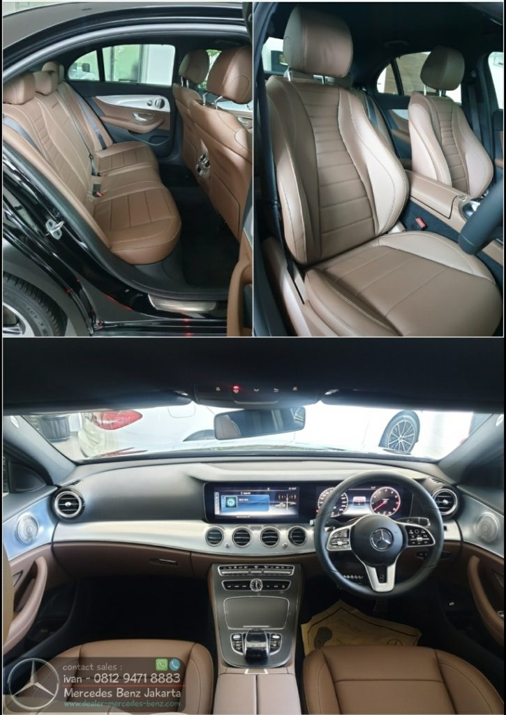 E300 Sportstyle Avantgarde Interior Brown 2020 Indonesia
