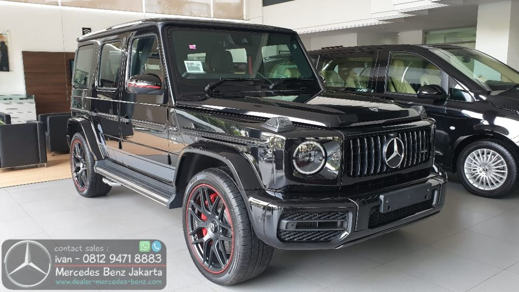 Mercedes-Amg G-Class G63 Edition 1 Black 2019-2020 Indonesia