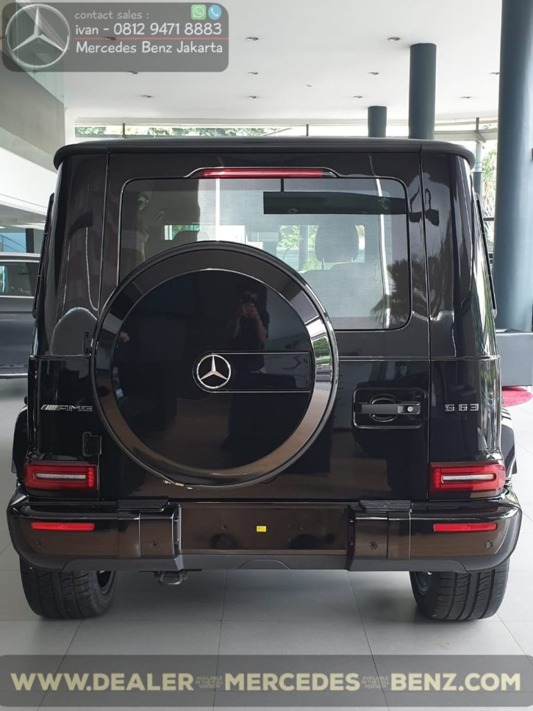Mercedes-Amg G-Class G63 Edition 1 Indonesia 2020 Black