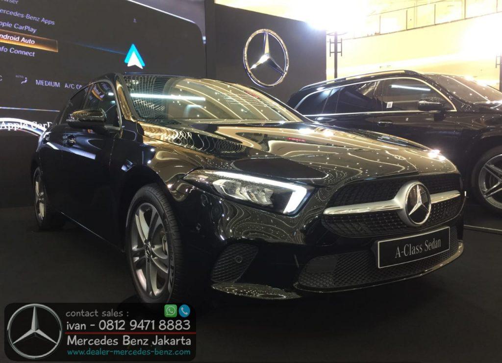 Mercedes Benz A-Class Sedan CKD 2021 Indonesia Black