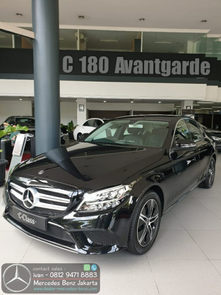 Mercedes-Benz C-Class C180 Avantgarde Line 2020 Indonesia Black