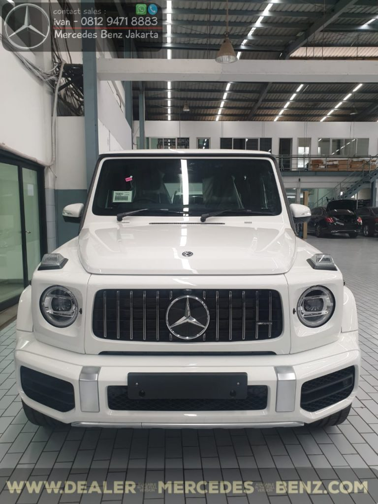 Mercedes Benz G-Class G63 Amg Indonesia 2019-2020 White