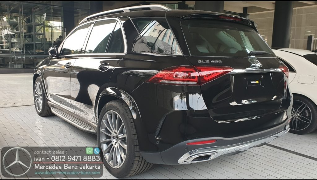 Mercedes Benz GLE450 Amg 2020 Indonesia Black