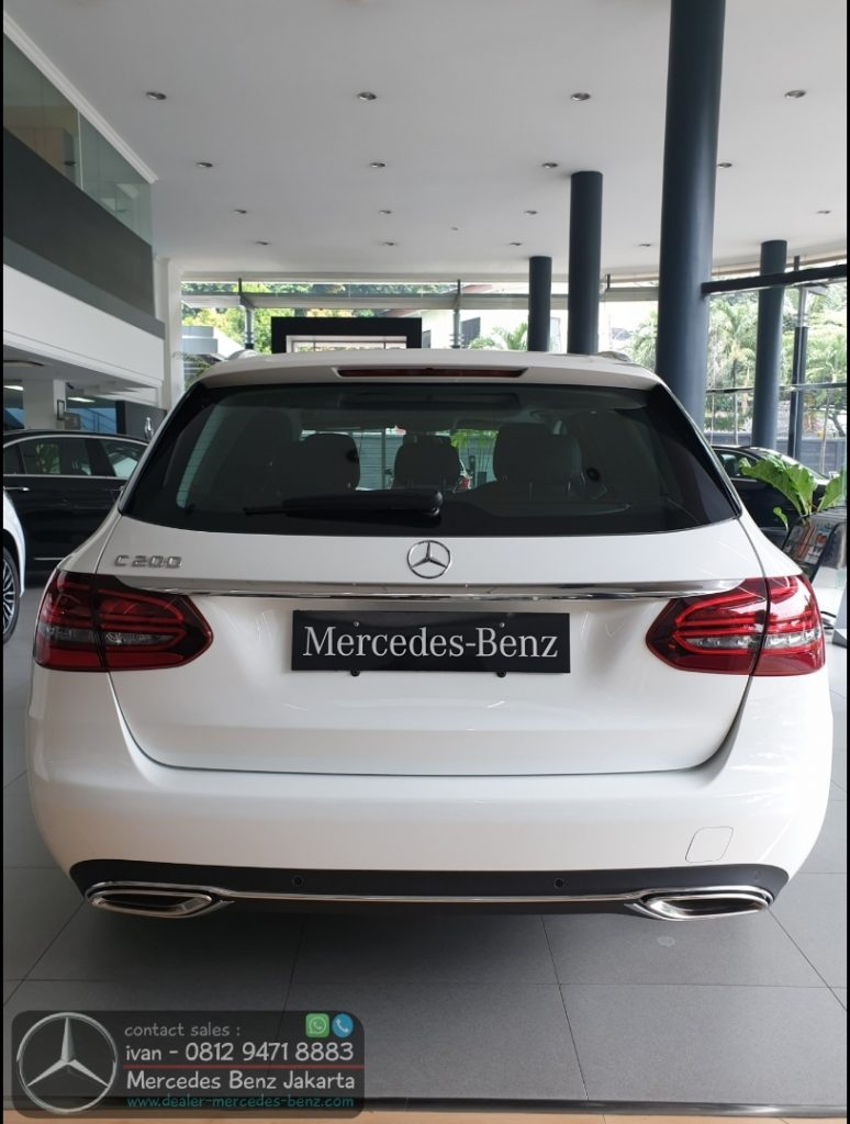 New Mercedes C200 Exclusive Estate 2019-2020 Indonesia
