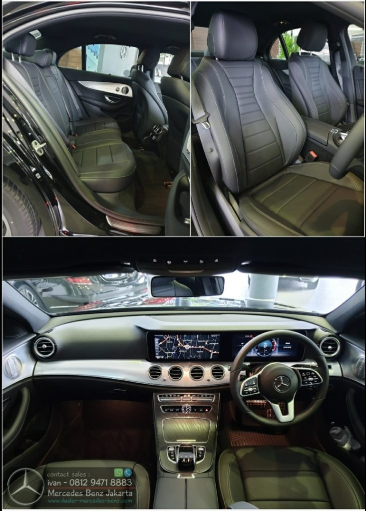 E300 SportStyle Avantgarde Interior Black 2020 Indonesia