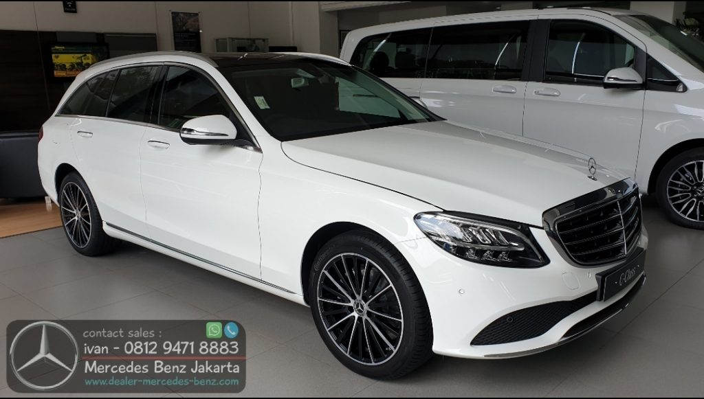New Mercedes Benz C-Class C200 Estate Exclusive Line 2020 Indonesia