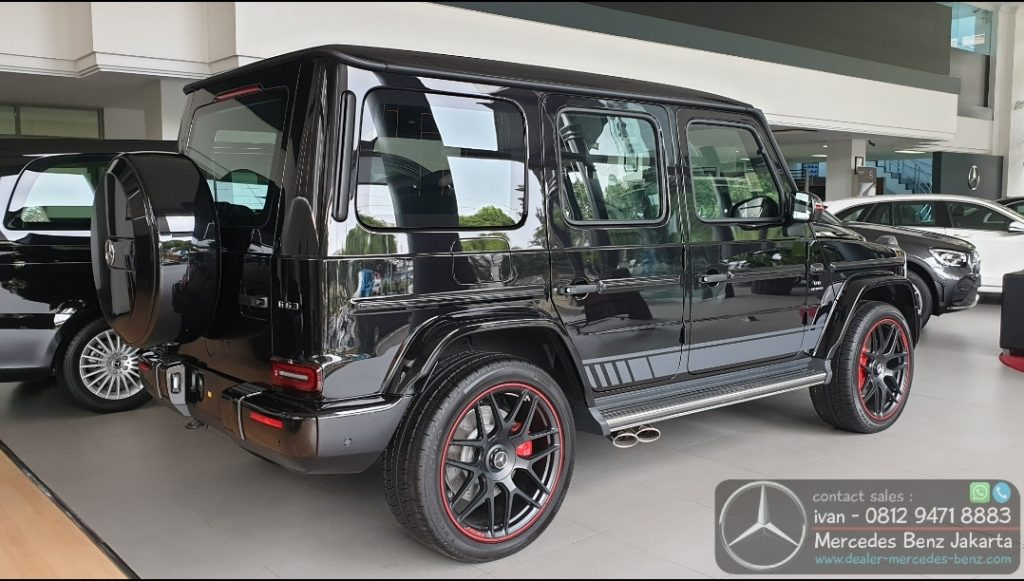 Mercedes-Benz G-Class G63 Amg Edition 1 Black 2019-2020 Indonesia