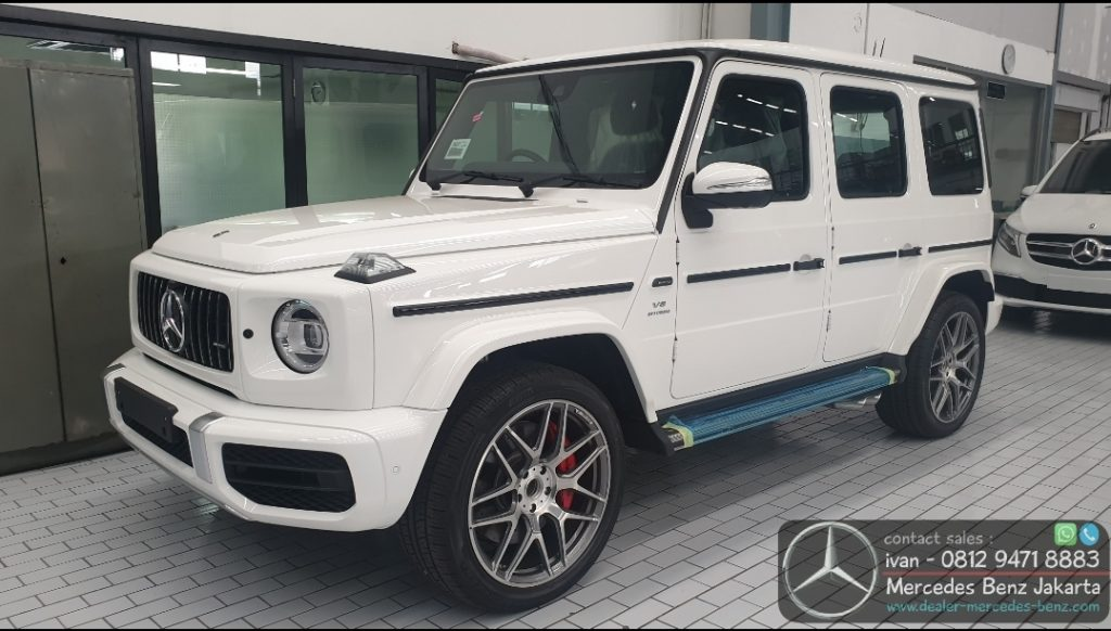 Mercedes-Benz G-Class G63 Amg Indonesia 2019-2020 White