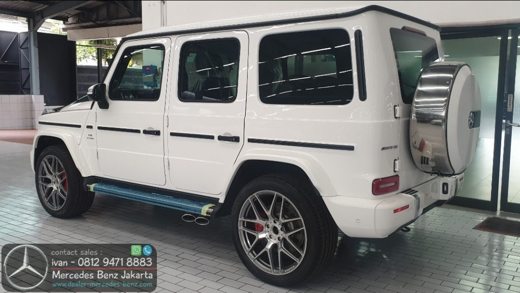 Mercedes-Benz G-Class G63 Amg Indonesia 2019-2020 White2