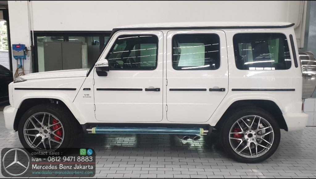 Mercedes-Benz G-Class G63 Amg Indonesia 2019-2020 White1
