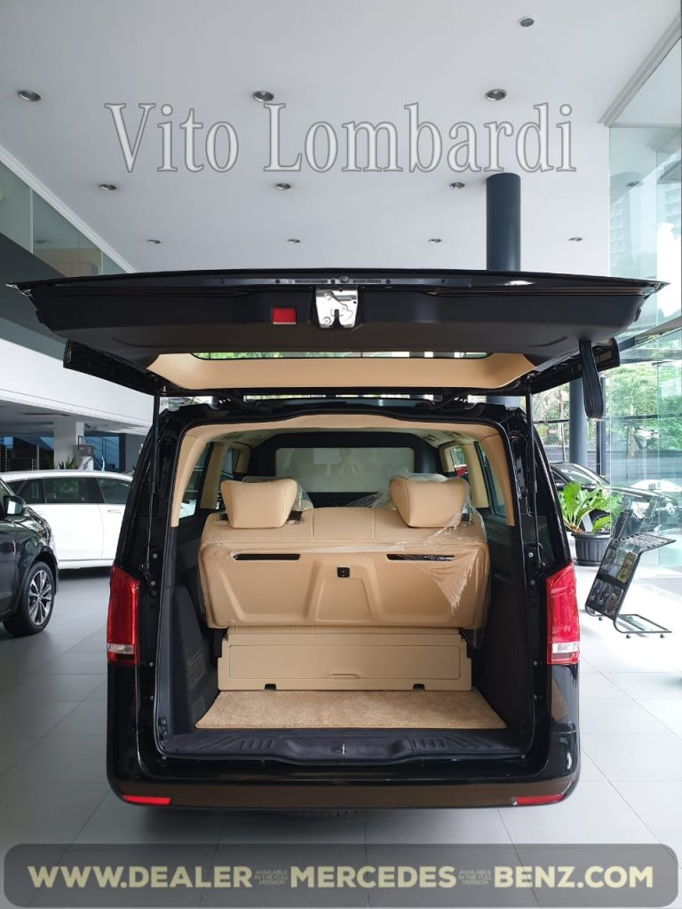Mercedes Benz Vito Lombardi 2020 Indonesia Black