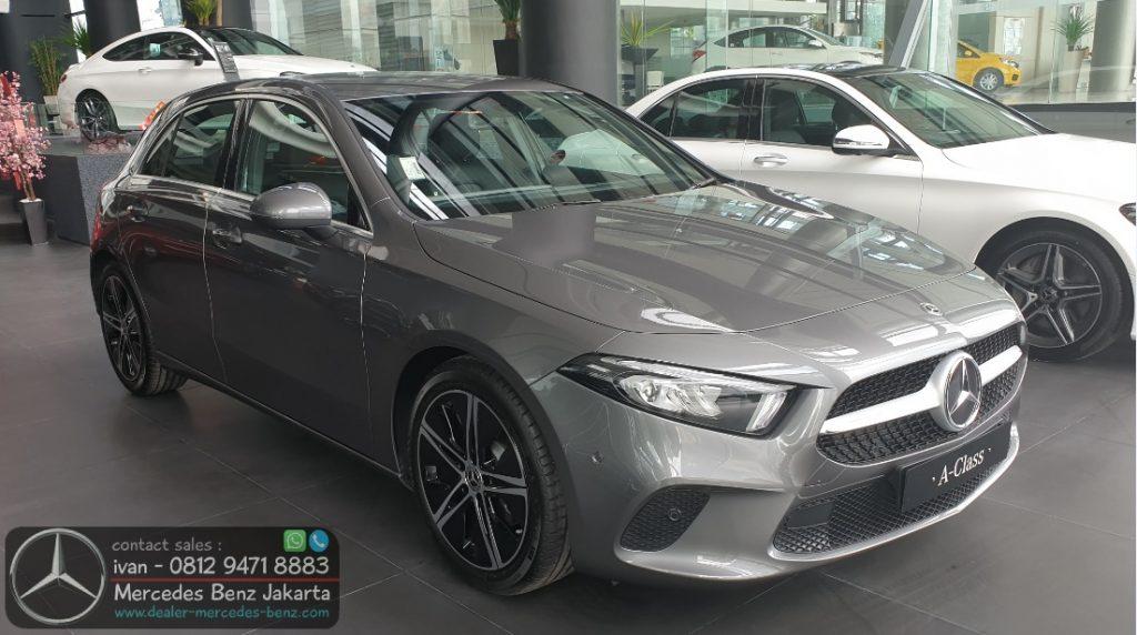 Mercedes Benz A-Class 2020 Indonesia Grey