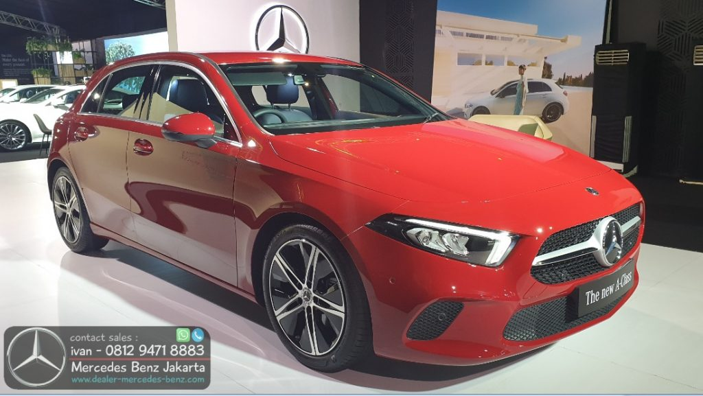 Mercedes Benz A-Class 2020 Indonesia Red
