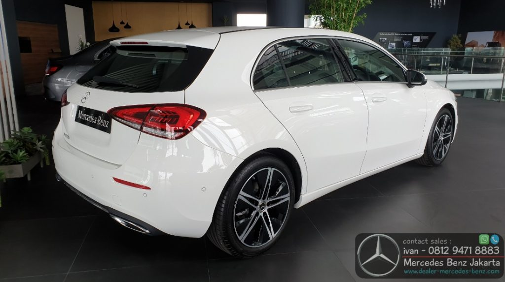 Mercedes Benz A-Class Hatchback 2020 Indonesia White