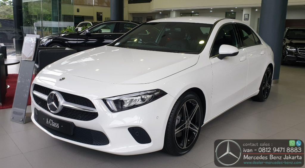 Mercedes Benz A-Class Sedan 2020 Indonesia White