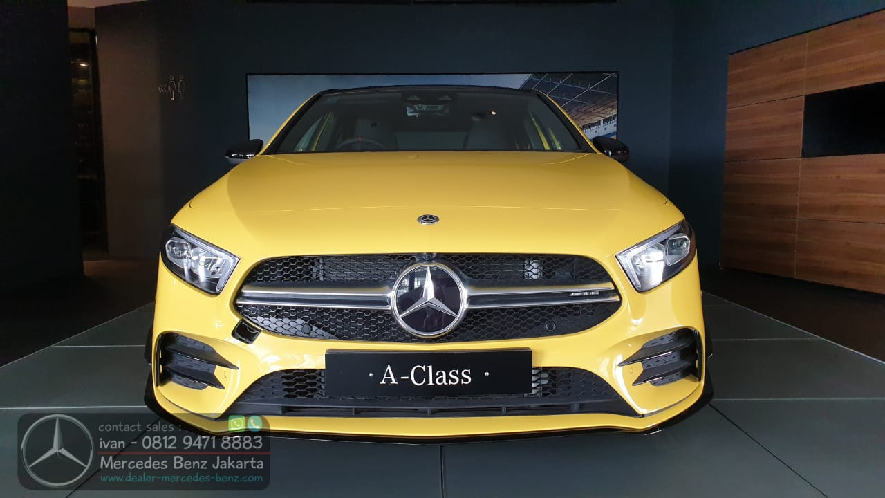Mercedes-AMG A35 4Matic 2021 Indonesia Yellow