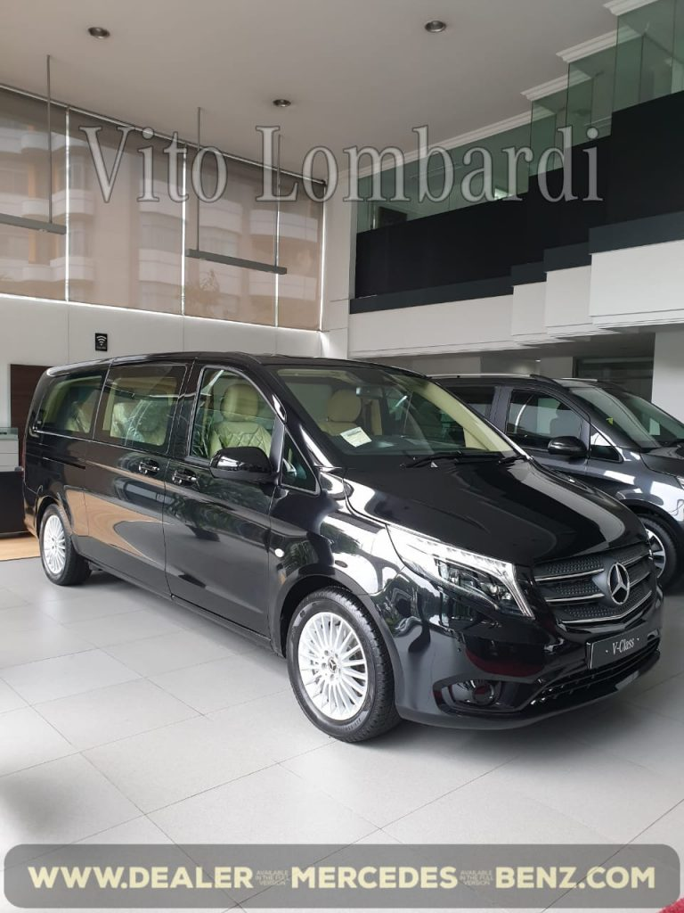 New Mercedes Benz Vito Tourer Lombardi 2020 Indonesia