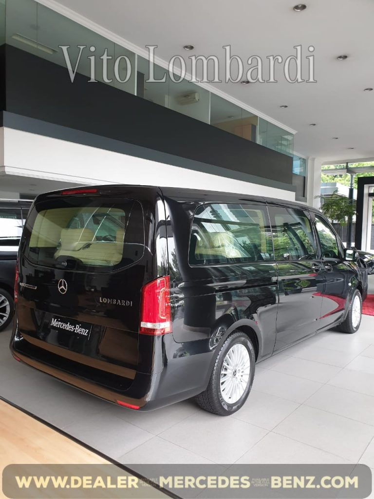 Mercedes Benz Vito Tourer Lombardi V-Class 2020 Indonesia