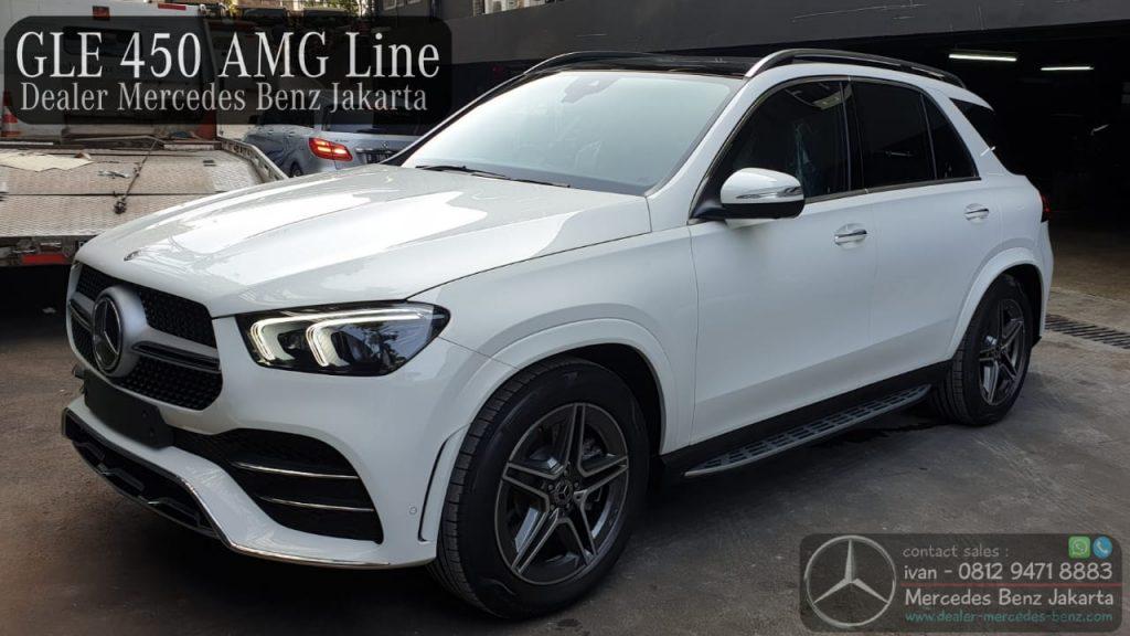 GLE450 4Matic AMG Indonesia 2020 White