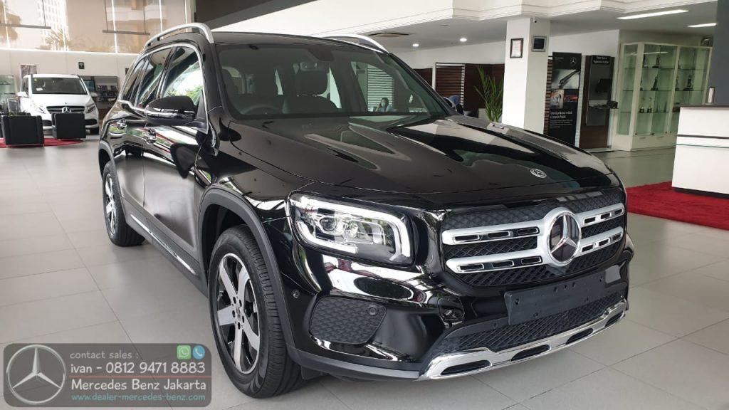 Mercedes-Benz GLB200 Progressive Line 2020 Indonesia Black