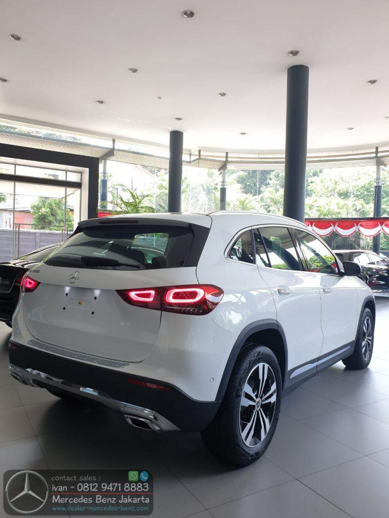 New Mercedes Benz GLA 200 2020 Indonesia White