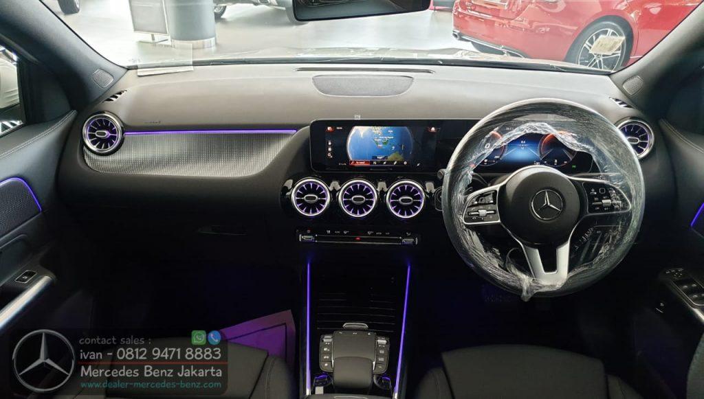 Interior GLA 200 Progressive Indonesia 2020 Black
