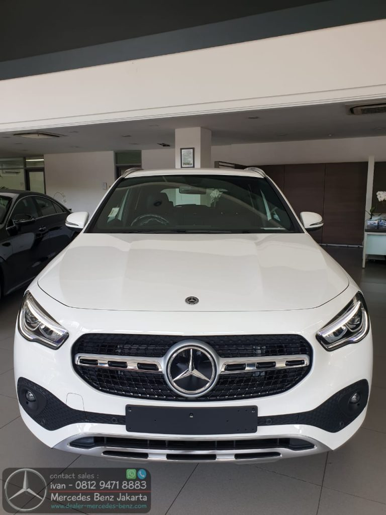 New Mercedes Benz GLA200 2020 Indonesia White